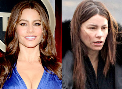 JADATO: Celebrities with and without Makeup