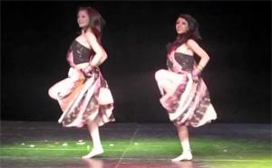 White Girls Dances to Kalasala Kalasala from Osthi
