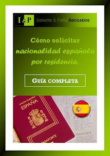 eBook GRATIS: como solicitar nacionalidad española por residencia.