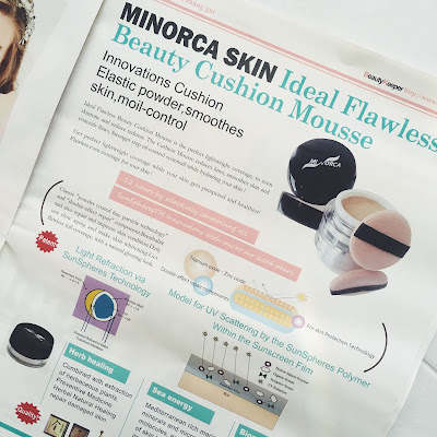 Minorca Skin Ideal Flawless Beauty Cushion Mousse  - BeautyKeeper Taiwan