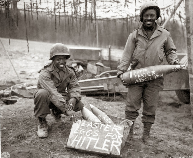 Special Eastern eggs for Hitler, 1945