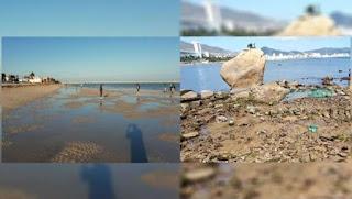 FOTOS: se aleja el mar en varias playas de México.