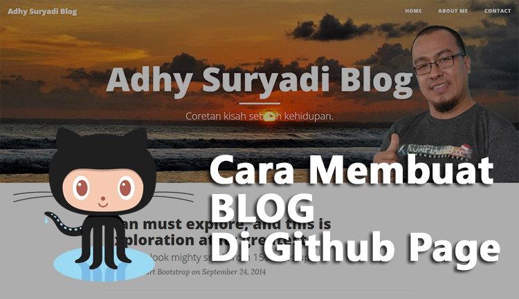 Cara Membuat Blog Di Github Pages