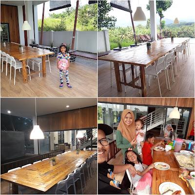 The Cedar Bidor : Villa Mewah dan Indah Atas Bukit di Perak untuk Lokasi Family Day