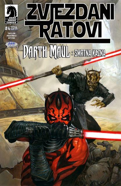 Smrtna kazna 4 (Darth Maul) - Zvjezdani Ratovi