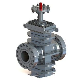 oil and gas industry slab gate valve