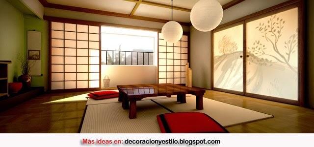 decoracion estilo japones