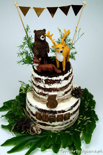 naked cake torty artystyczne