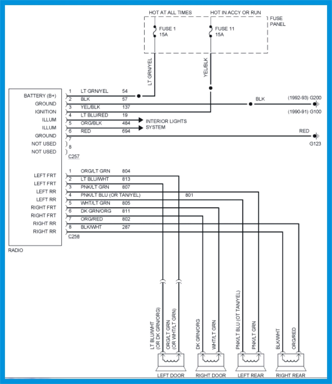 ford super duty wiring diagram color coded wrg 8765 2013 7 blade trailer plug wiring diagram 2006 ford f 250 stereo wiring color