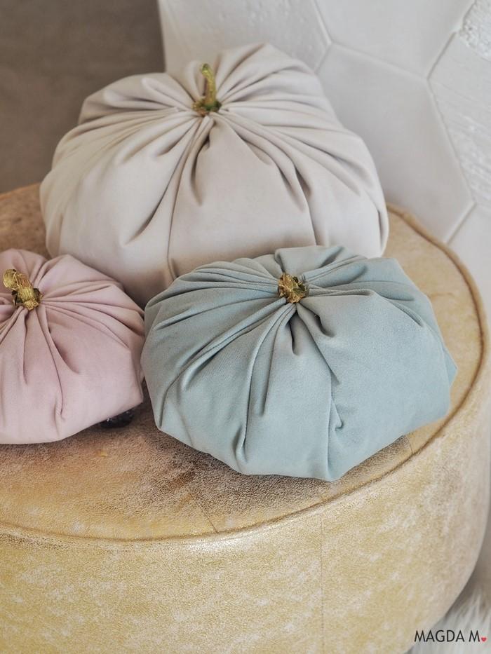 Jak zrobić dynie z aksamitu