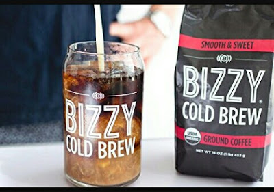 Bizzy Ground Coffee - 100% Organic for Cold Brewing