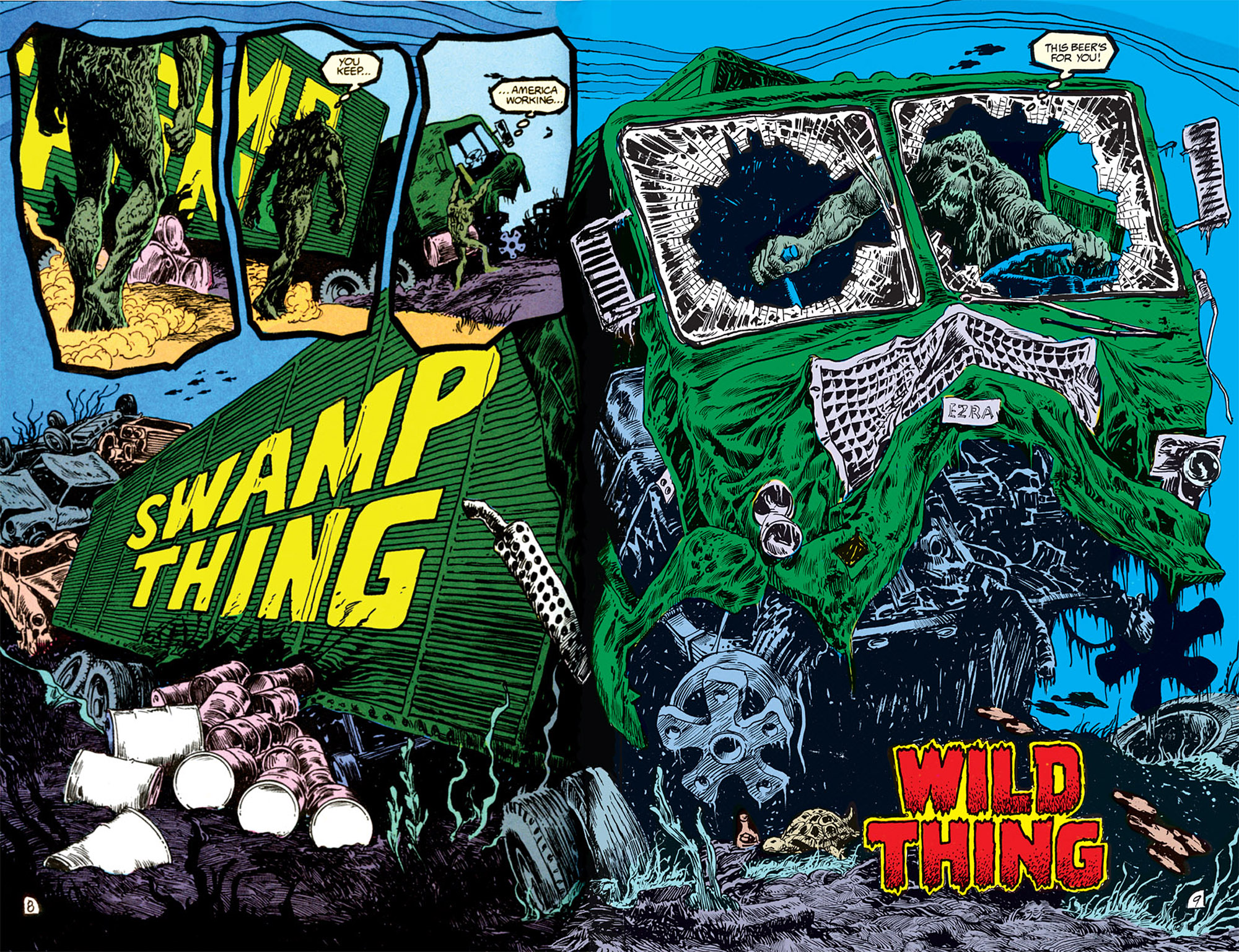 Swamp Thing (1982) Issue #69 #77 - English 6
