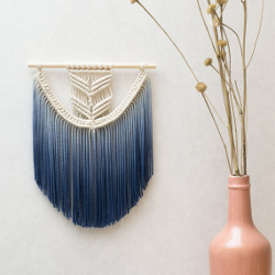 Ombre Macrame Wall Hanging