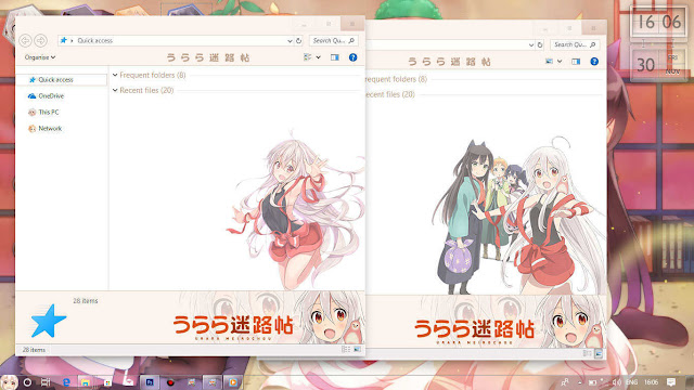 Windows 10 Ver. 1703 Theme Urara Meirochou by Enji Riz Lazuardi