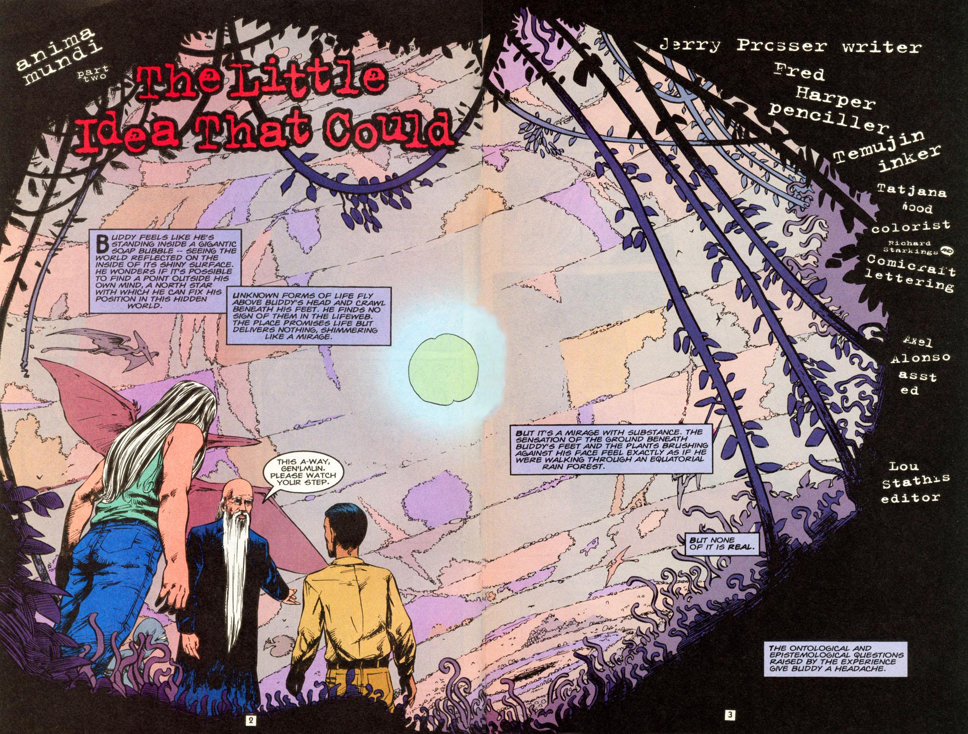 Read online Animal Man (1988) comic -  Issue #86 - 3