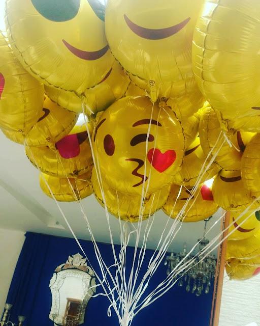 Balões de Emoji do Whatsapp