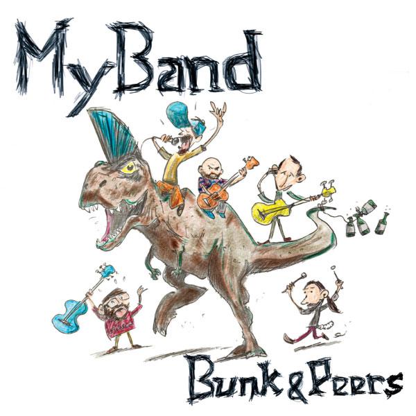 """Myband stream new album """"Bunk & Peers"""""""