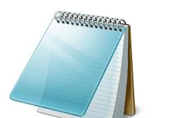 Cara Membuat Teks Bergaris Bawah Pada  Notepad