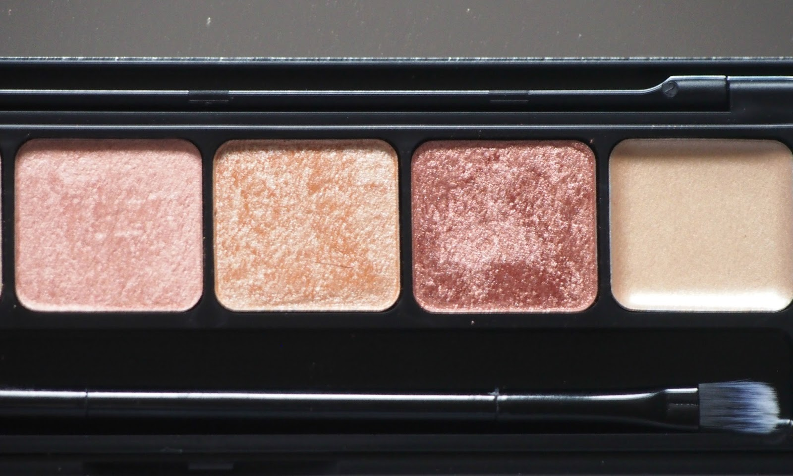 Close up of eyeshadow palette