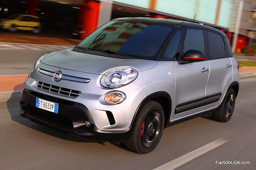 Fiat 500L - European version