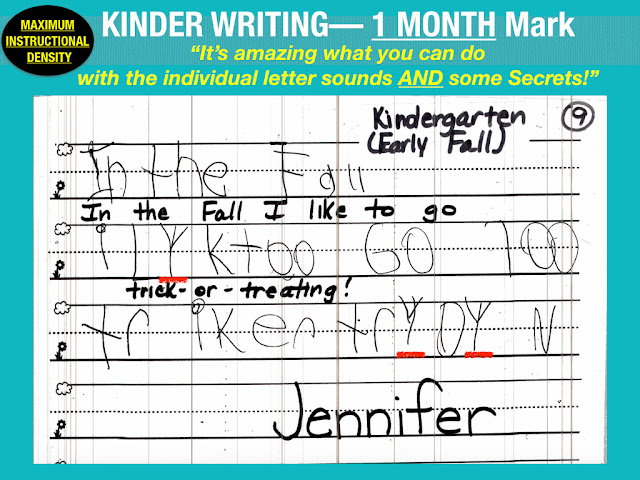 "Secret Stories® Phonics Kindergarten Writing—  ""The 1 Month Mark"""