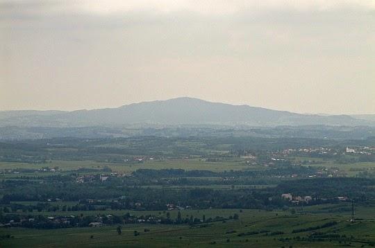 Liwocz (562 m n.p.m.) - najwyższe wzniesienie Pogórza Ciężkowickiego.
