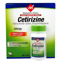 Cetirizine (Zyrtec)