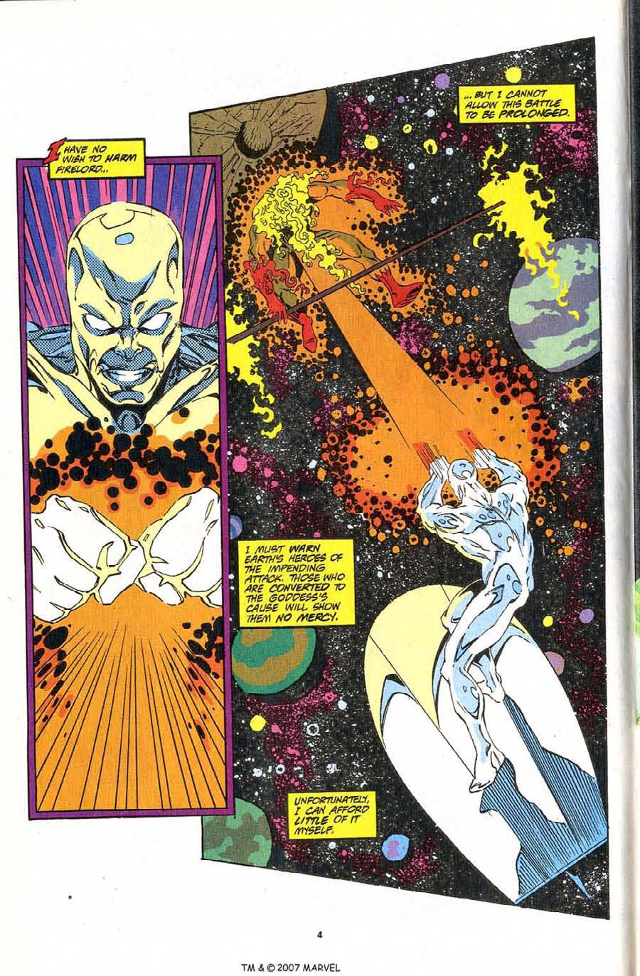 Read online Silver Surfer (1987) comic -  Issue #83 - 6