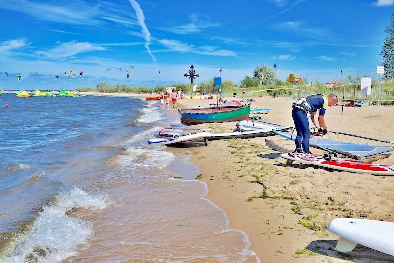 rewa co robić, rewa kite, rewa windsurfing, rewa co zobaczyć