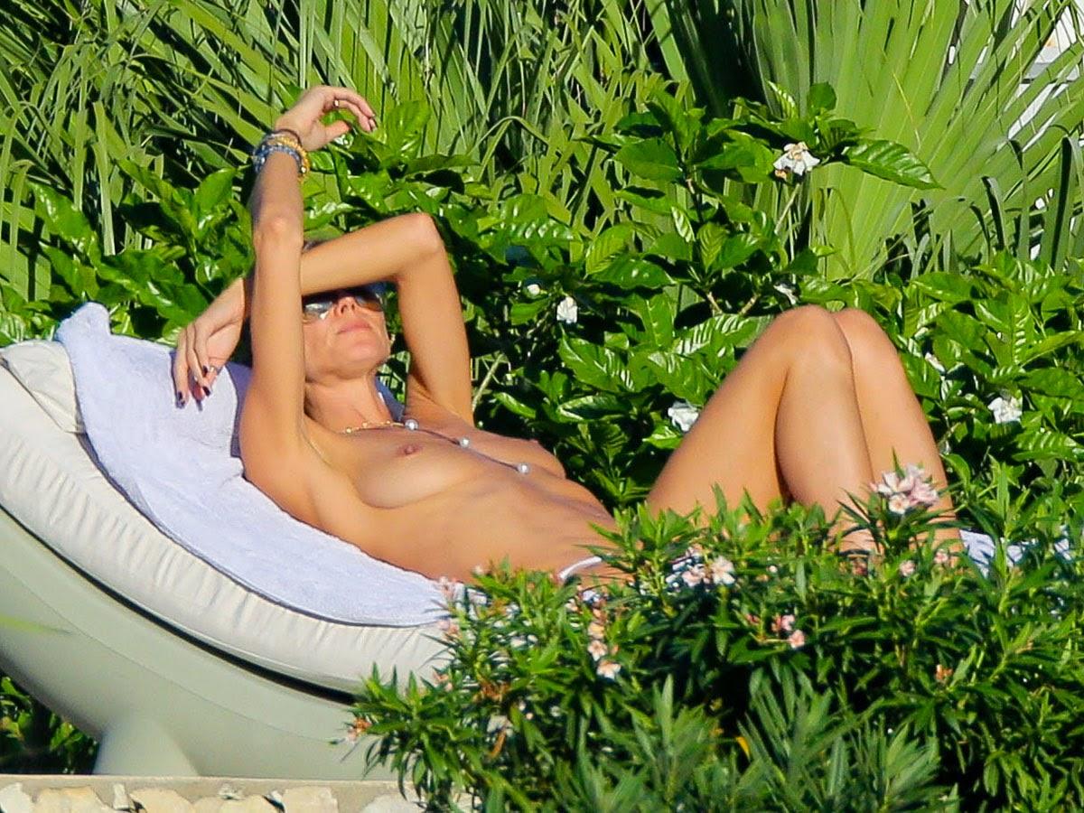 Heidi klum topless in mexico