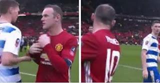 Pemain Reading Tolak Tukar Jersey dengan Rooney