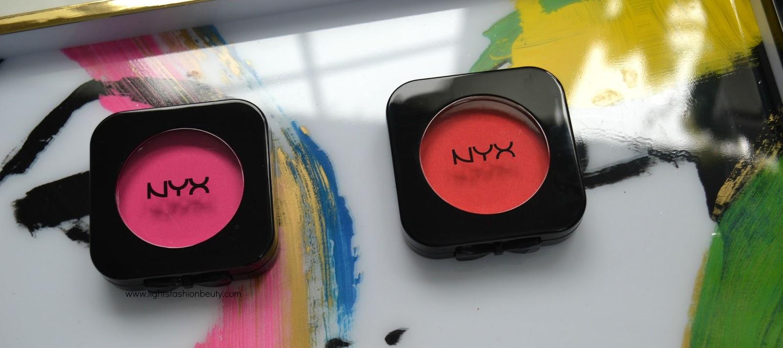 nyx hd blush, nyx cosmetics hd blush swatches dark skin, nyx electro blush, nyx crimson blush,