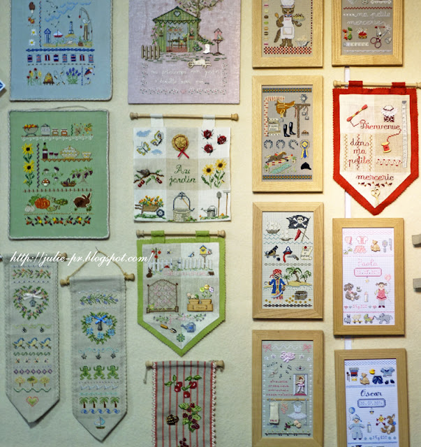 Париж, рукодельный салон Creations & savoir-faire-2015, porte de versailles, вышивка крестом, французская вышивка