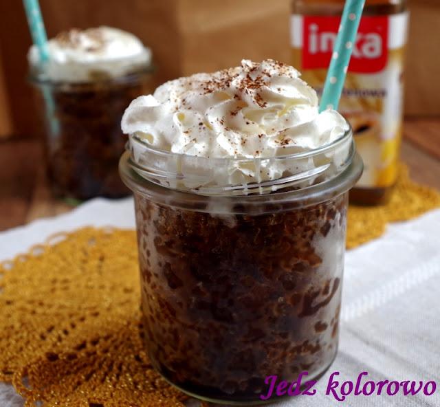 granita kawowa z syropem klonowym