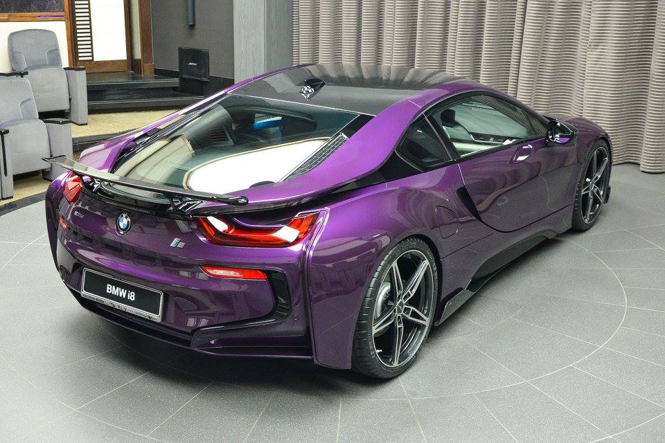 Twilight Purple Bmw I8 Looks Fit For The Joker