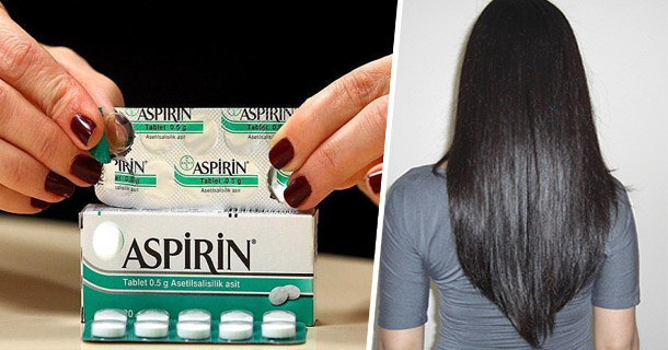 How To Get Long, Shiny And Smooth Hair By Using Aspirin