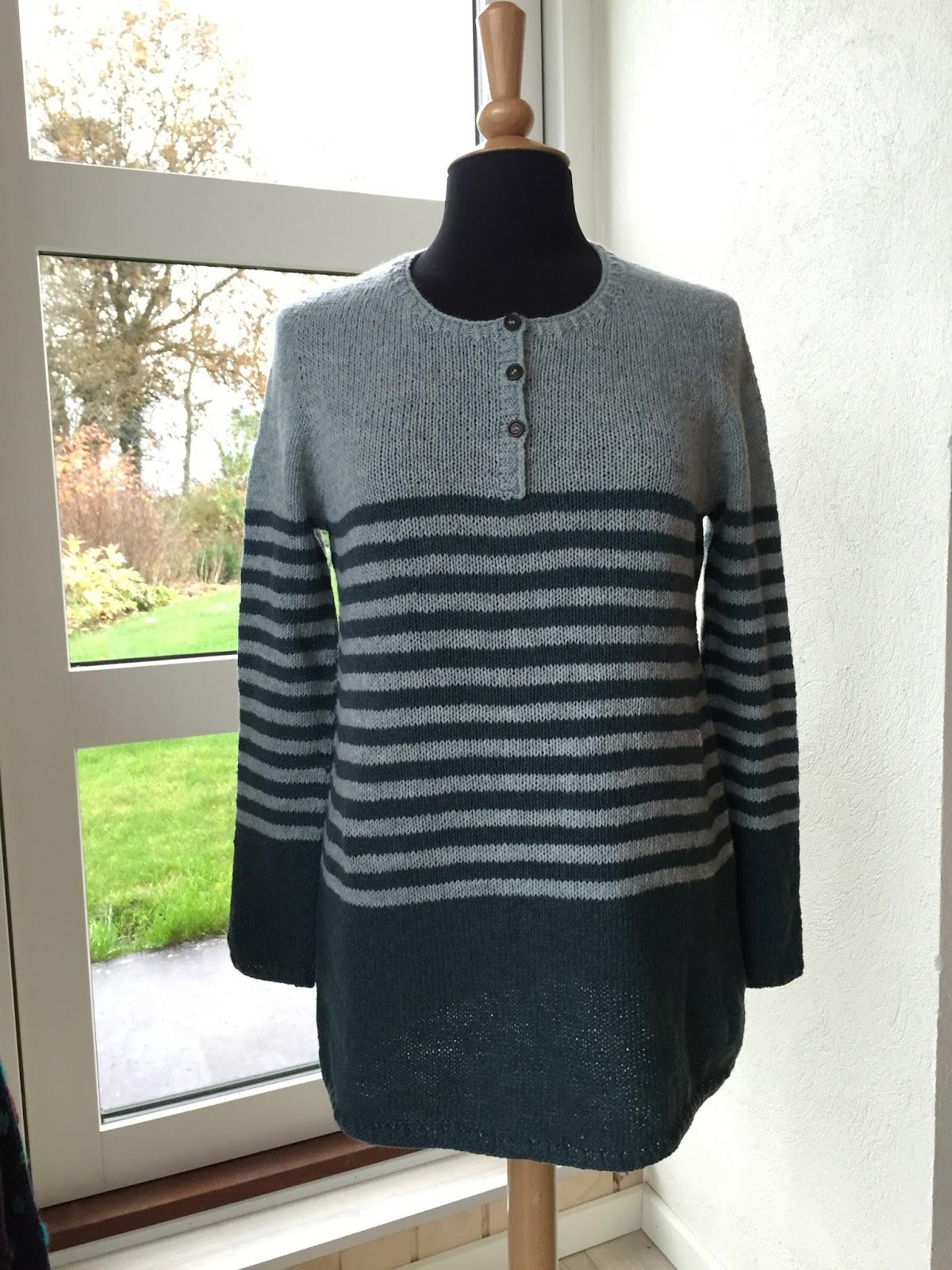 strikket jakke opskrift