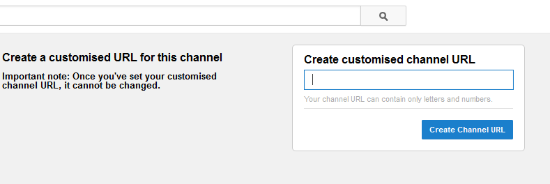 change youtube username url