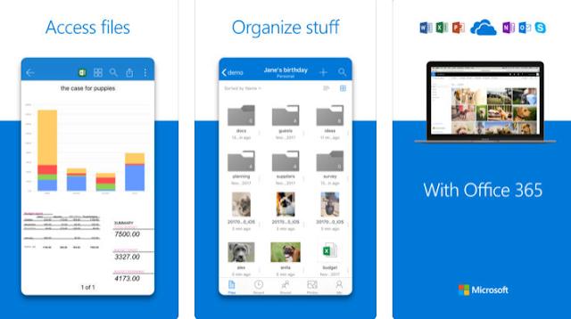 تحديث جديد لتطبيق ون درايف على iOS  لتحسين ملاحظة PDF