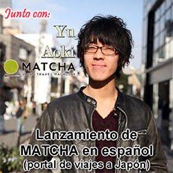 Yu Aoki CEO de Matcha