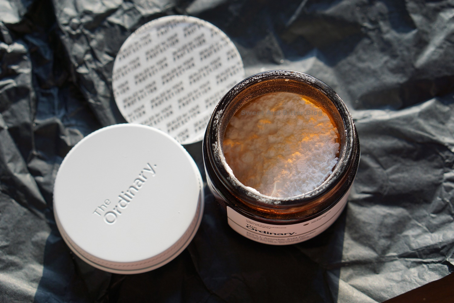 The Ordinary L- Ascorbic Acid Powder Review Indian Skin Texture GlassJar