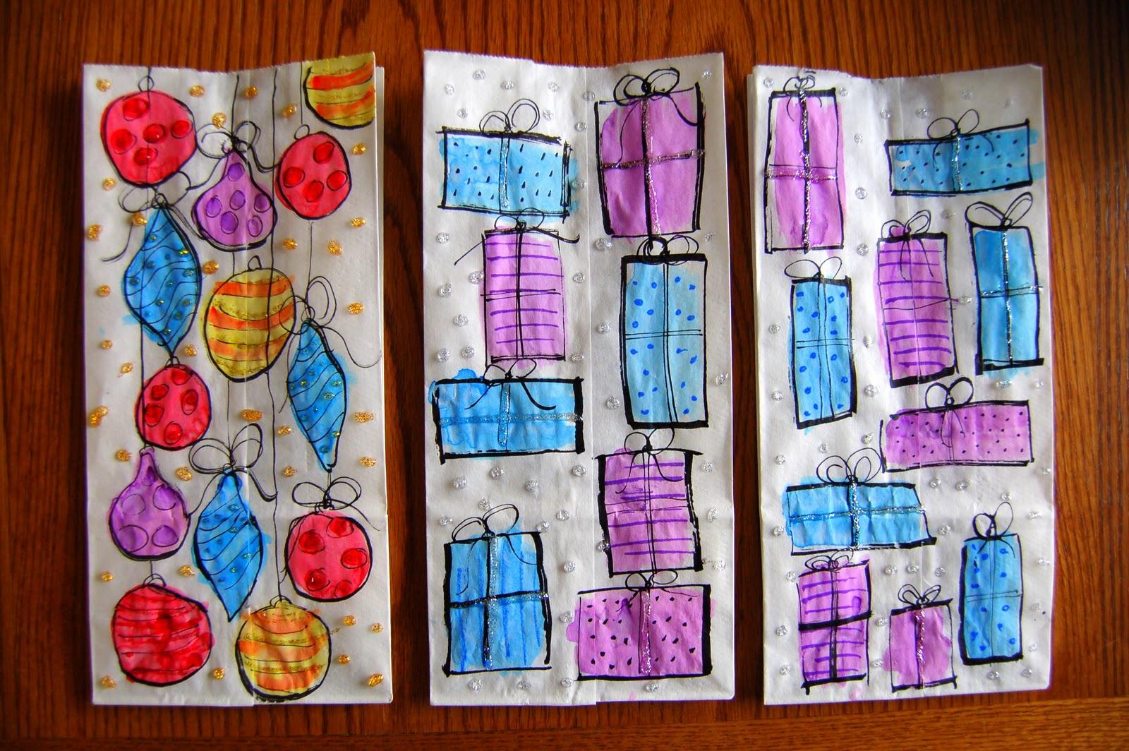 Christmas Gift Bags Diy.Diy Christmas Gift Bags