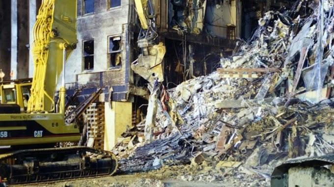 FBI re-releases 9/11 photos of Pentagon