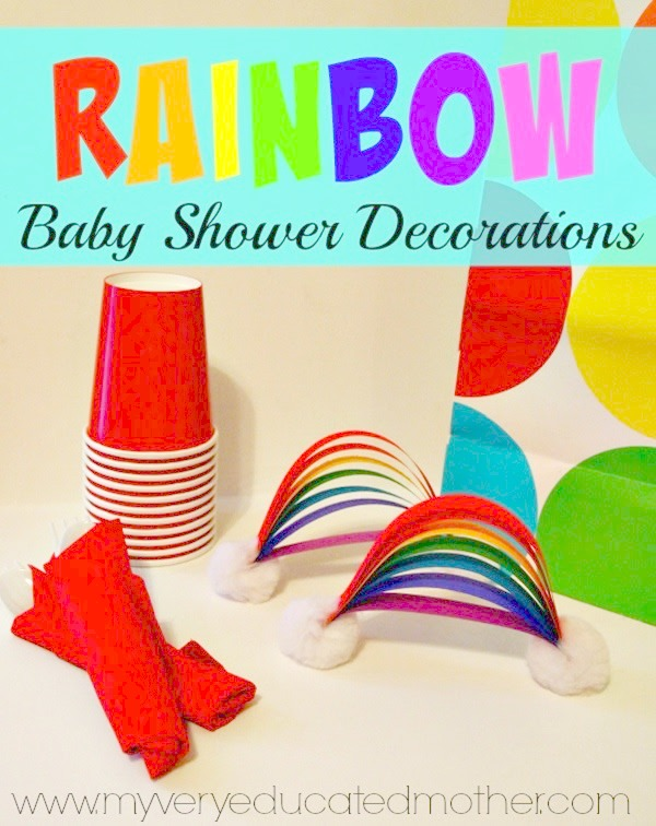 Everyone loves rainbows, they're perfect for parties and these tabletop decoration ideas are genius!