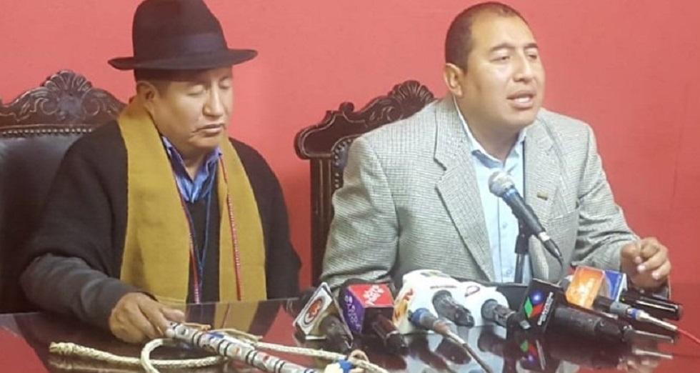 Rafael Quispe y Wilson Santamaría se alejan de UN para  formar PUEBLO / WEB