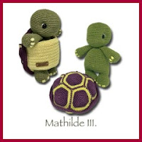 Tortuga Matilde amigurumi