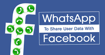 WhatsApp to Share your Personal Data With Facebook