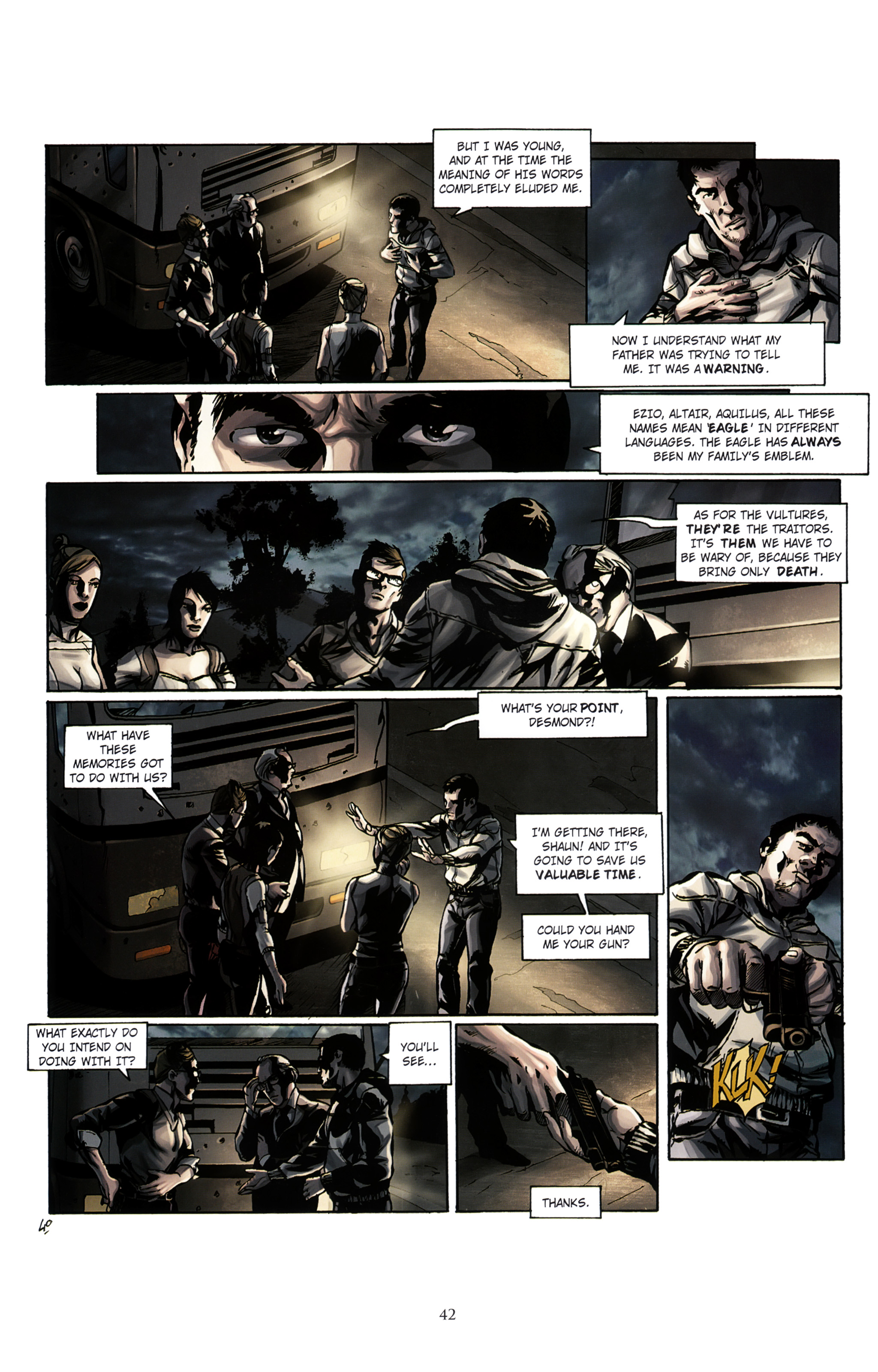Read online Assassin's Creed (2012) comic -  Issue #2 - 46