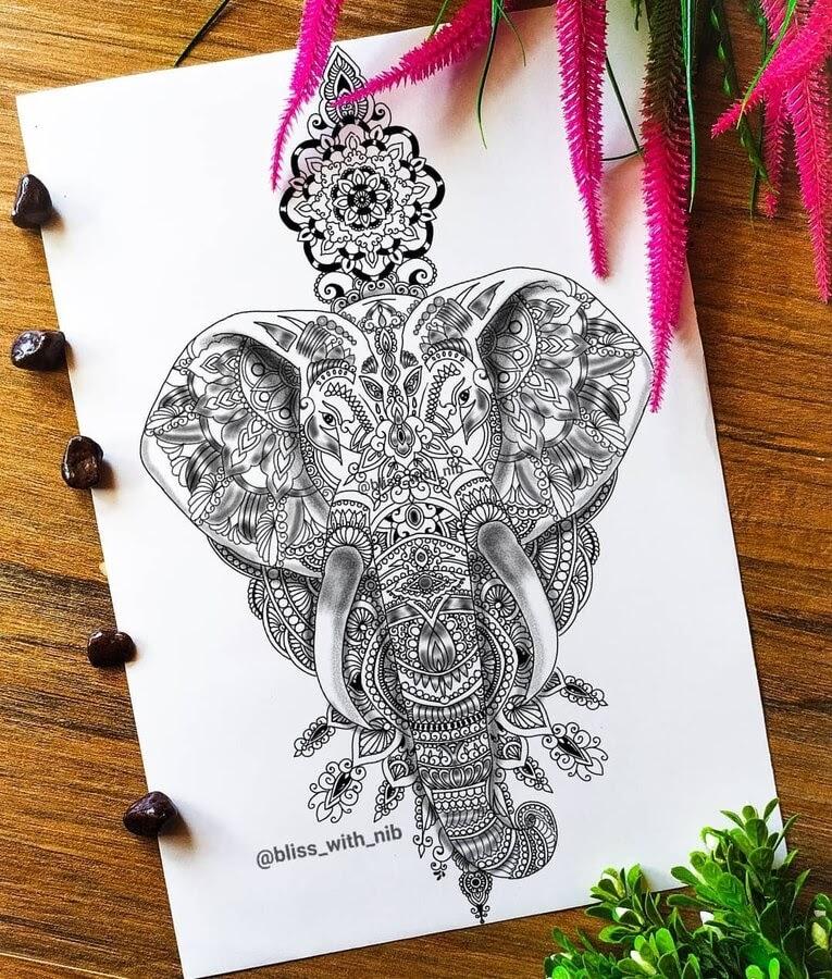 01-Elephant-Mandala-S-V-Apnar-www-designstack-co