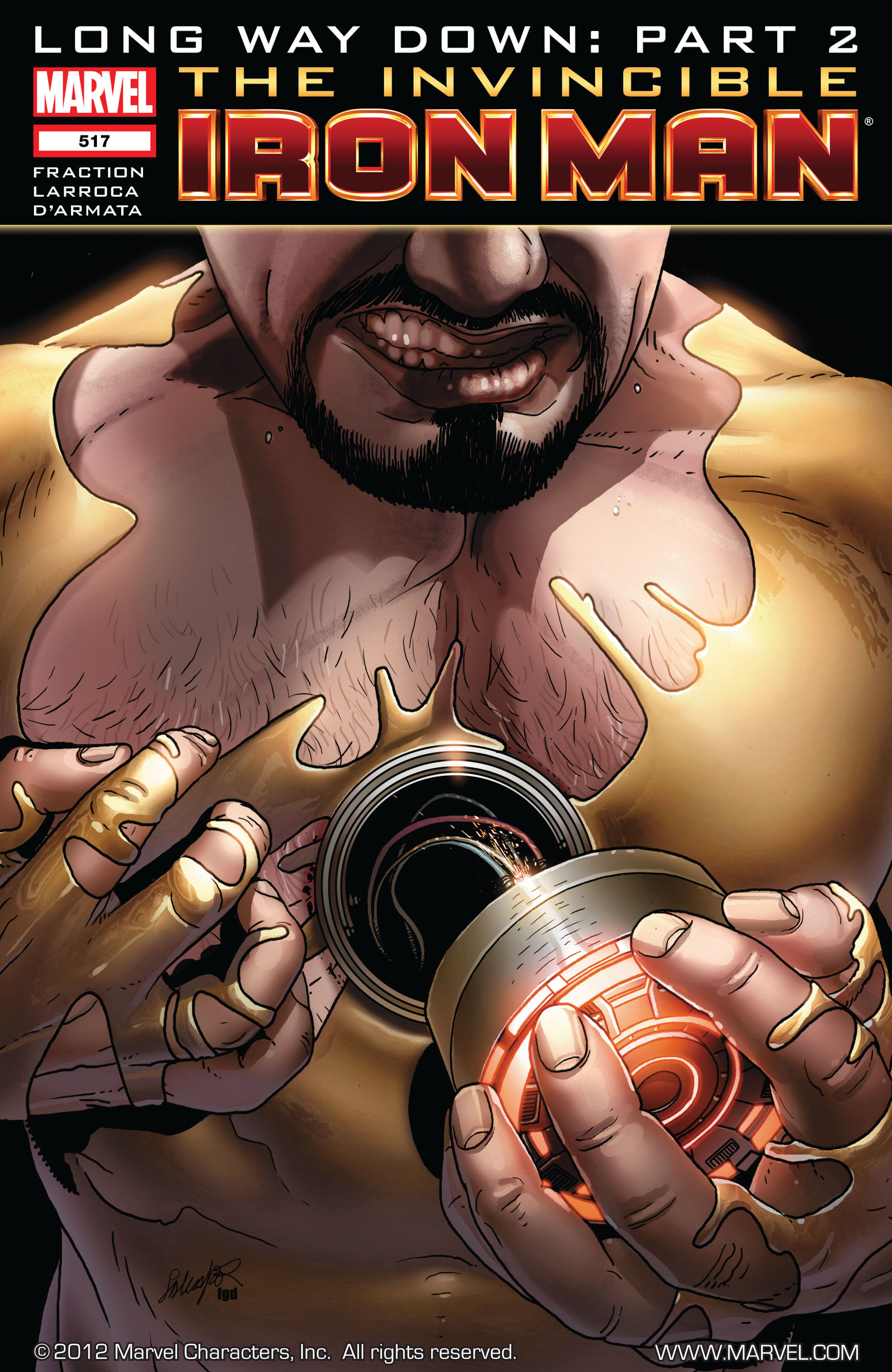 Invincible Iron Man (2008) 517 Page 1